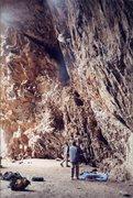Rock Climbing Photo: Skull Cave