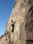 Rock Climbing Photo: 1) Edge, downward pull, chalk, rest  2) Edge, down...