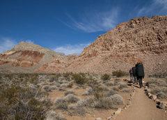 Rock Climbing Photo: Path to Kraft Boulders