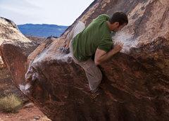 Rock Climbing Photo: Standard Mantel
