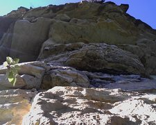 Rock Climbing Photo: Roof Fun. There is a great looking line on these u...