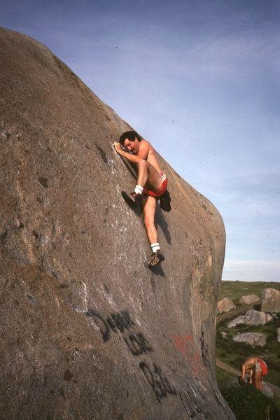 Rock Climbing Photo: shockleys lunge problem - santee