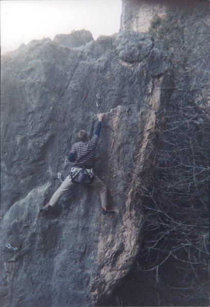 Rock Climbing Photo: Molar Boulder.