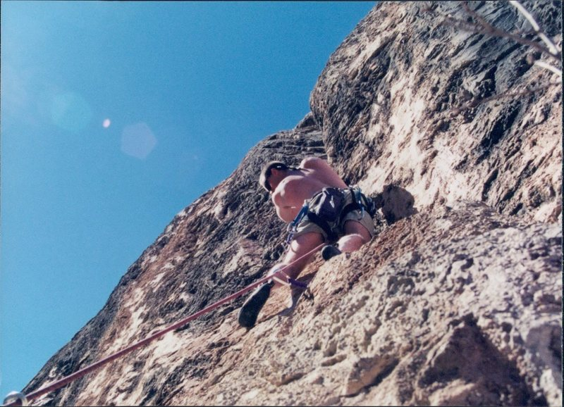 Rock Climbing Photo: Here is the link up photo. This is one of the best...