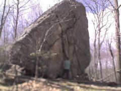 Rock Climbing Photo: Glacial Erratic along the grey trail.