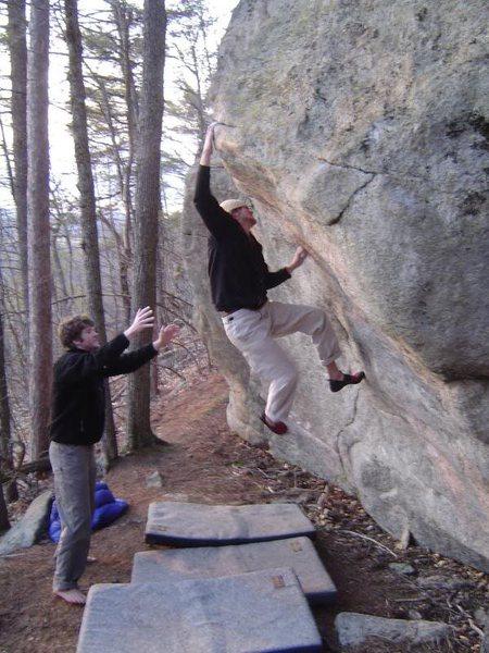 Rock Climbing Photo: Fuga!