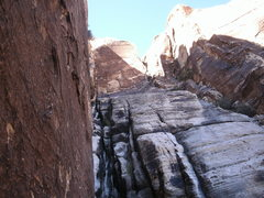 Rock Climbing Photo: third pitch is gravy, aint nothing to it but to do...