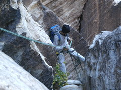 Rock Climbing Photo: on the way back