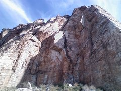 Rock Climbing Photo: Left of Kor Route