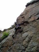 Rock Climbing Photo: Glen starting up... 2005?