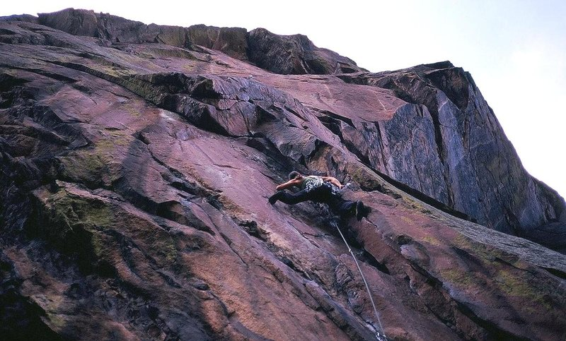 Rock Climbing Photo: And in the beginning...