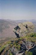 Rock Climbing Photo: Morgan Patterson, Glen Boulder - Kinickinick (V9)