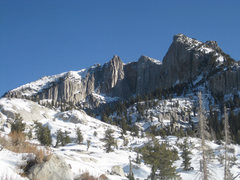 Rock Climbing Photo: The Cirque in winter. December 2011.