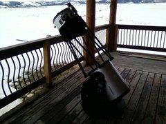 Rock Climbing Photo: Big gun at the cabin...