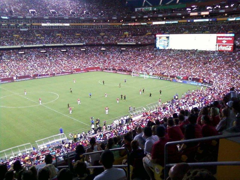 Rock Climbing Photo: Soccer sucks! Manchester United vs Barcelona, FedE...