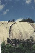 Rock Climbing Photo: Stone Mountain, North Carolina