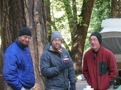 Rock Climbing Photo: A motley crew in Yosemite…