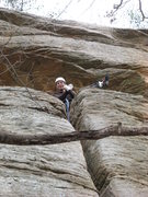 Rock Climbing Photo: On top of muscle shoals.
