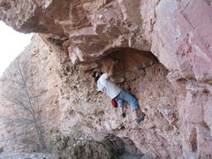 Rock Climbing Photo:  Is there a name for this rock? Its got bands of r...
