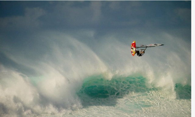 15 year old Bernd Roediger at Hookipa,Maui<br> on 12/08/11<br> Photo:John&quot;Chico&quot;Bruder