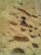 "Rock Climbing Photo: My first sport lead ""Five gallon buckets&quot..."
