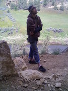 Rock Climbing Photo: Just me