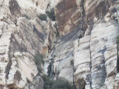 Rock Climbing Photo: kay kay--  is that an alien head drinking beer on ...