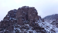 Rock Climbing Photo: Faulty Towers area from Godhead North when it was ...