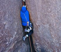 Rock Climbing Photo: Kamikaze Crack