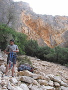 Rock Climbing Photo: Mallorca, climbing inland