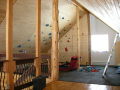 Rock Climbing Photo: The cabin playpen...