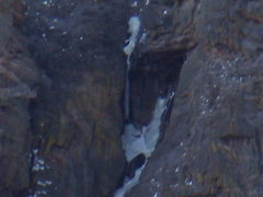 Rock Climbing Photo: Deep Freeze close -up. Great day in the park.  Tak...