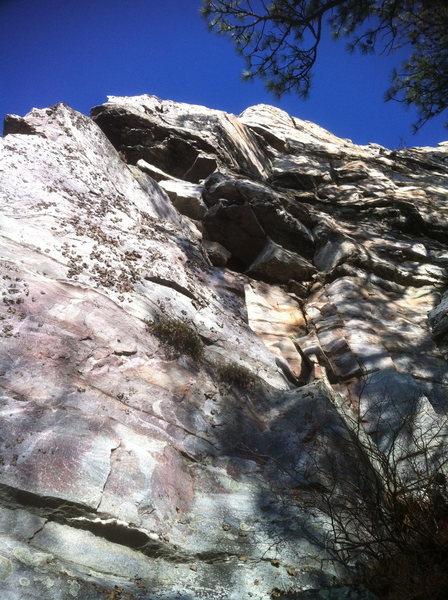 Rock Climbing Photo: Look Before You Leak