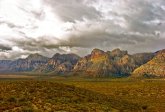 Rock Climbing Photo: Red Rock panorama. Such a great place