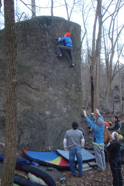 Rock Climbing Photo: Pretty high up there...