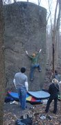Rock Climbing Photo: Low on the Original Route