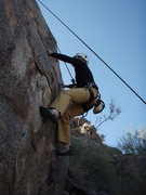 Rock Climbing Photo: Susan on the tough start to 'The fear of having se...
