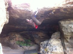 Rock Climbing Photo: Reggie onsites!