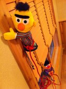 Bert n Ernie cruising an undisclosed, sick project @ City of Rocks. 5.14b Grade VI.