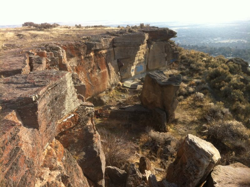 Rock Climbing Photo: Big Times