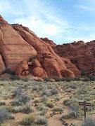 Rock Climbing Photo: Take Jenny's Canyon trail