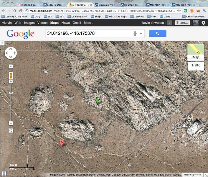 Rock Climbing Photo: gmaps