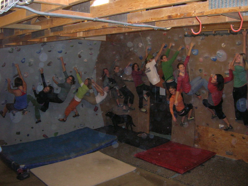Rock Climbing Photo: another random climbing night