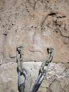 Rock Climbing Photo: New anchors.  Hardware provided by ASCA.