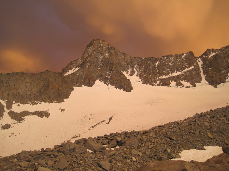 Rock Climbing Photo: Mt.Sill, after some threatening weather, we had so...