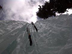 Rock Climbing Photo: Short, but steep.  3/2011.