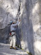Rock Climbing Photo: Stick clipping... just because we had it, not beca...