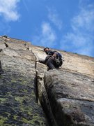 Rock Climbing Photo: Pitch 2!