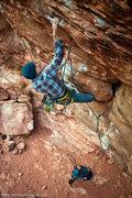 Rock Climbing Photo: Andy Hansen sending Steep Thrills. Dec 2011  mattk...