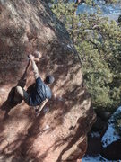 Rock Climbing Photo: One of my favorite boulder problems.